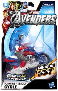 Marvel Avengers Movie Battle Chargers Furyfire Assault Cycle