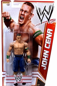 Mattel WWE Wrestling Basic Series 22 Action Figure #59 John Cena