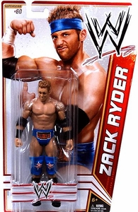 Mattel WWE Wrestling Basic Series 22 Action Figure #60 Zack Ryder BLOWOUT SALE!