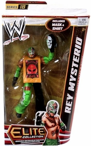 Mattel WWE Wrestling Elite Series 18 Action Figure Rey Mysterio