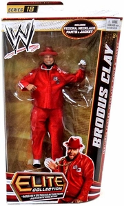 Mattel WWE Wrestling Elite Series 18 Action Figure Brodus Clay The Funkasaurus!