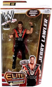 Mattel WWE Wrestling Elite Series 18 Action Figure Jerry Lawler