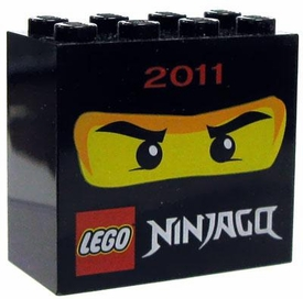 LEGO Ninjago Factory Black Brick