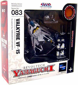 Robotech Macross Revoltech #083 Super Poseable Action Figure VF-1S Valkyrie [Do You Remember Love Version]