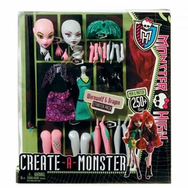 Monster High Create-A-Monster Stater Pack Werewolf & Dragon