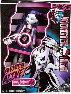 Monster High Ghouls Alive Deluxe Doll Spectra Vondergeist