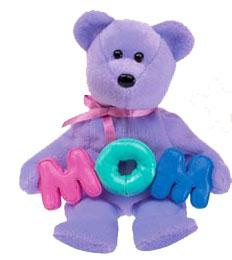 Ty Beanie Baby Mom the Bear