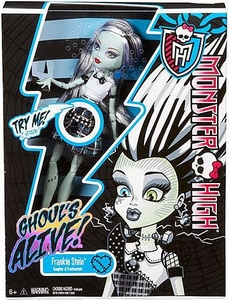 Monster High Ghouls Alive Deluxe Doll Frankie Stein