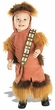 Star Wars Costume #11681 Chewbacca Romper (Toddler Size)