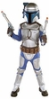 Star Wars Deluxe Child [LARGE] Costume Jango Fett #10732 Blaster Not Included!