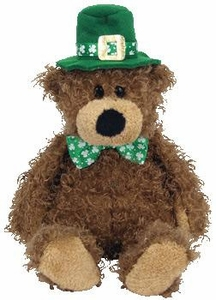 Ty Beanie Baby Lucky O'Day the St. Patrick's Day Bear