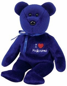 Ty Beanie Baby Australia Exclusive Melbourne the Bear
