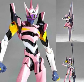 Evangelion 3.0 You Can (Not) Redo Revoltech Yamaguchi  #134 Super Poseable Action Figure EVA 08 Alpha Pre-Order ships March