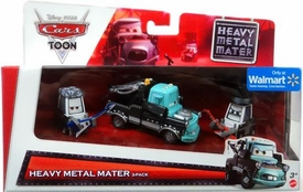 Disney / Pixar CARS Exclusive 1:55 Die Cast 3-Pack Heavy Metal Mater [Eddie, Heavy Metal Mater & Rocky]