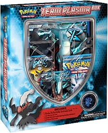 Pokemon Black & White Team Plasma Box