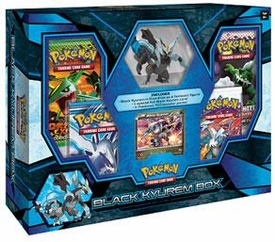 Pokemon Black & White Card Game Black Kyurem Box