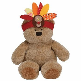 Ty Thanksgiving Day Beanie Baby Little Bear the Bear