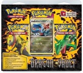 Pokemon Card Game Dragon Vault Special Edition 3-Pack [1 Booster Packs & 1 Random Promo Card]