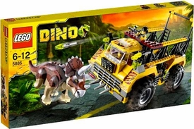 LEGO Dino Set #5885 Triceratops Trapper