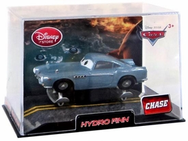 Disney / Pixar CARS 2 Movie Exclusive 1:43 Die Cast Car In Plastic Case Hydro Finn