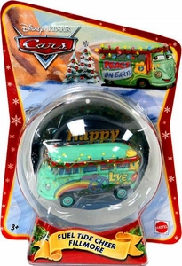 Disney / Pixar CARS Movie 1:55 Die Cast Figure Exclusive 2011 Christmas Package Fuel Tide Cheer Fillmore