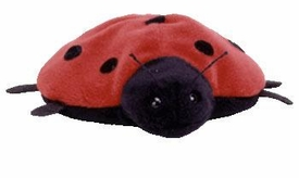 Ty Beanie Baby Lucky the Ladybug 7 Spots Near Mint Tags! Very Rare!