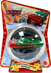 Disney / Pixar CARS Movie 1:55 Die Cast Figure Exclusive 2011 Christmas Package Christmas Cruiser Ramone