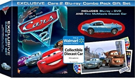 Cars 2 Exclusive Blu-Ray + Standard DVD {Widescreen} [Includes Die Cast Finn McMissile]