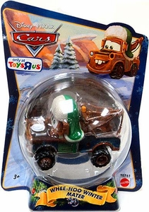 Disney / Pixar CARS Movie 1:55 Die Cast Figure Exclusive 2010 Christmas Package Whee-Hoo Winter Mater