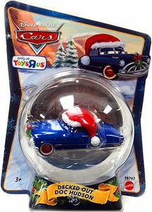 Disney / Pixar CARS Movie 1:55 Die Cast Figure Exclusive 2010 Christmas Package Decked Out Doc Hudson