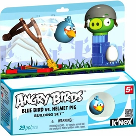 Angry Birds K'NEX Set #72612 Blue Bird Vs. Helmet Pig