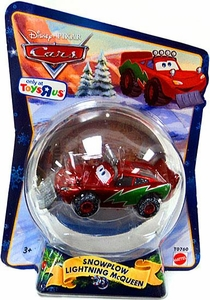 spiritDisney / Pixar CARS Movie 1:55 Die Cast Figure Exclusive 2010 Christmas Package Snowplow Lightning McQueen