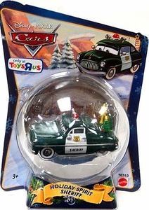 Disney / Pixar CARS Movie 1:55 Die Cast Figure Exclusive 2010 Christmas Package Holiday Spirit Sheriff