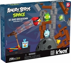 Angry Birds Space K'NEX Exclusive Set #72436 Ice Bird Breakdown