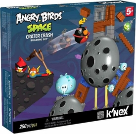 Angry Birds Space K'NEX Exclusive Set #72437 Crater Crash