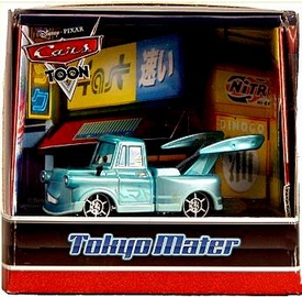 Mattel Disney / Pixar CARS Toon 2010 SDCC San Diego Comic-Con Exclusive Die Cast Car Tokyo Mater