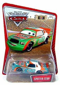 Disney / Pixar CARS Movie 1:55 Die Cast Exclusive Car Series 3 World of Cars Sputter Stop