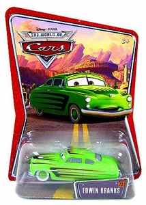 Disney / Pixar CARS Movie 1:55 Die Cast Exclusive Car Series 3 World of Cars Edwin Kranks