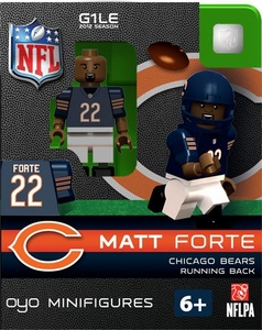 OYO Football NFL Building Brick Minifigure Matt Forte [Chicago Bears]