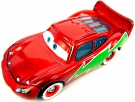 Hot Shot Lightning McQueen Mater Saves Christmas Disney / Pixar CARS Movie 1:55 Die Cast LOOSE Car