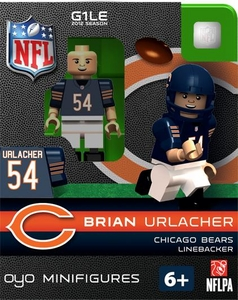 OYO Football NFL Building Brick Minifigure Brian Urlacher [Chicago Bears]