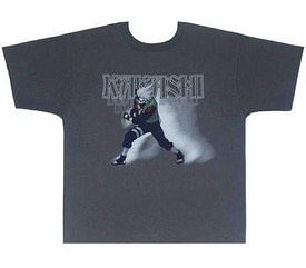 Naruto Adult T-Shirt Kakashi [Large]
