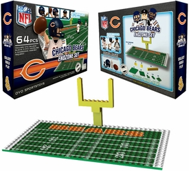 OYO Football NFL Generation 1 Team Field Endzone Set Chicago Bears