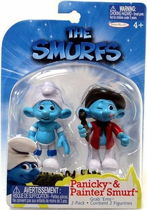 The Smurfs Movie Grab 'Ems Mini Figure 2-Pack Panicky & Painter