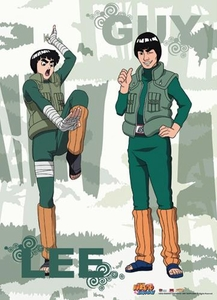 Naruto Shippuden Wall Scroll Lee & Guy