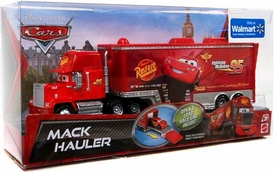 Disney / Pixar CARS Exclusive 1:55 Die Cast Car Mack Hauler