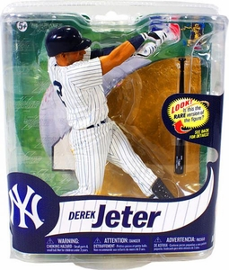 McFarlane Toys MLB Sports Picks Series 31 Action Figure Derek Jeter (New York Yankees) Pinstripes Uniform