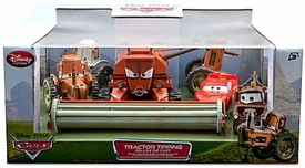 Disney / Pixar CARS Movie Exclusive 6-Piece 1:48 Scale Die Cast Set Tractor Tipping [Frank the Combine!]