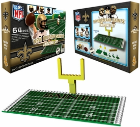 OYO Football NFL Generation 1 Team Field Endzone Set New Orleans Saints