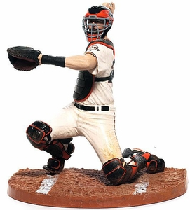 Buster Posey Action Figure White Jersey Sports Picks